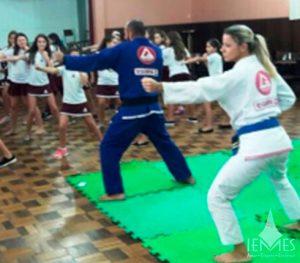 Prática de Jiu-Jitsu diferencia aulas de Educação Física